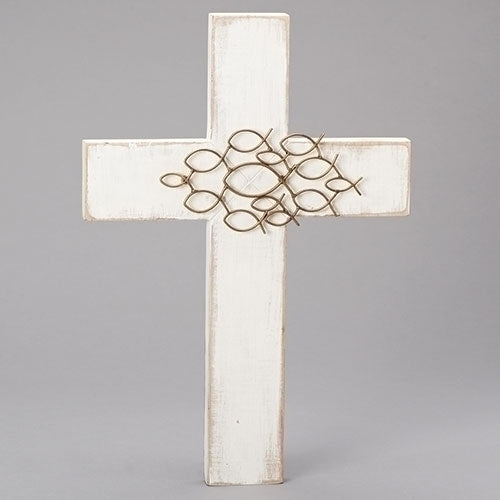 "CROSS - W/ICHTHUS GROUPING 18""H"