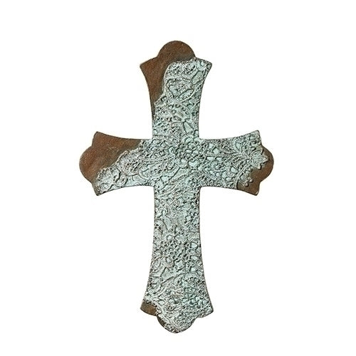 "LACE WALL CROSS 9""H"