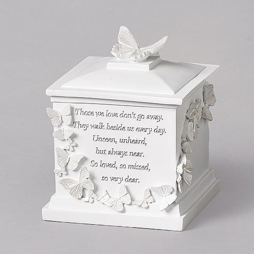 "Butterfly Memorial Box 7""H"
