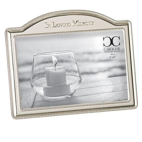 "LOVING MEMORY FRAME ARCHED 5.25""H"