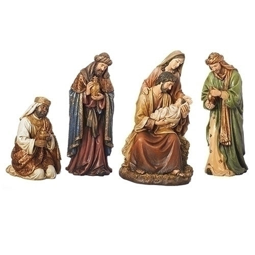 "NATIVITY - 4PC ST 16""TEXTURED NATIVITY"