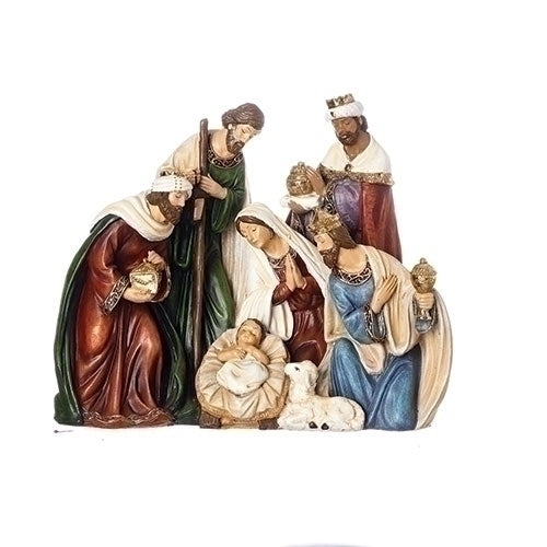 "NATIVITY - 8""H X 9.5""W NATIVITY FIGURE"