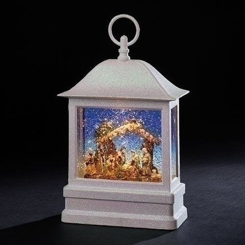 "LANTERN - 10.5""H LED NATIVITY LANTERN"