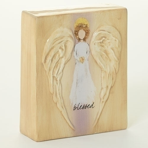 "Blessings Angel Block 5""H"