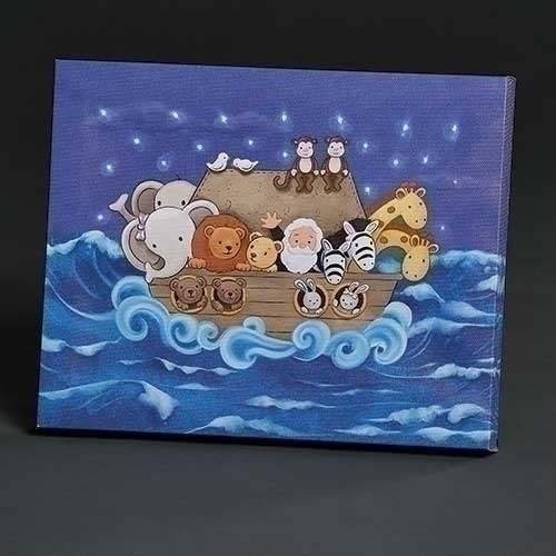 "NOAH'S ARK LED PLAQUE 7.75""H"