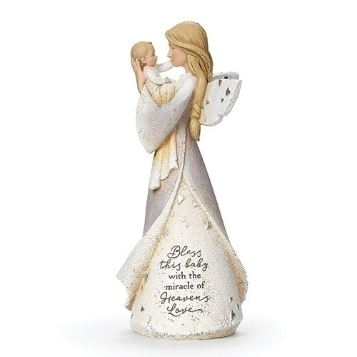 "Baby Blessing Angel 8.5""H"