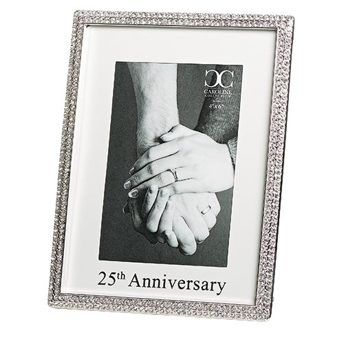 "25TH ANNIVERSARY FRAME 8.75""H"