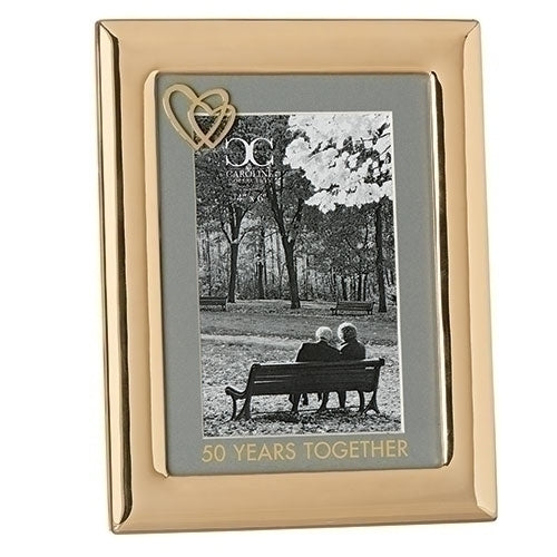 "50 YEARS TOGETHER FRAME 8.5""H"