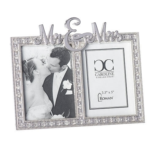"MR AND MRS SMALL FRAME 5.75""H"