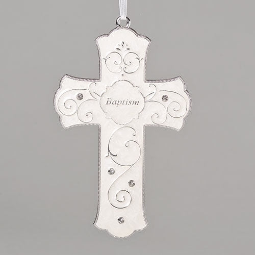 "Baptism Cross 7.25""H"