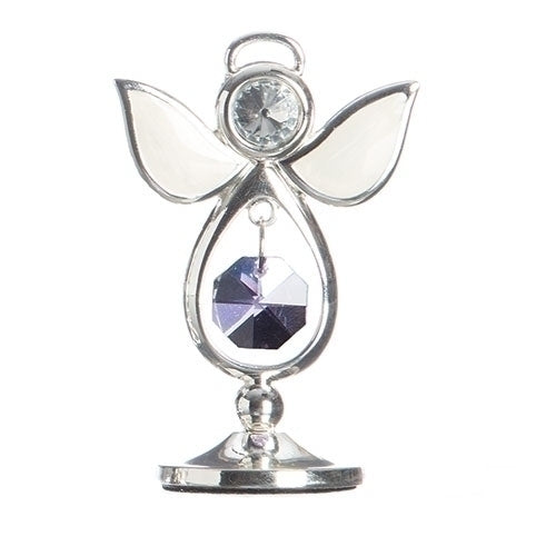 "BIRTHSTONE ANGEL JUNE KEEPSAKE 2.75""H"