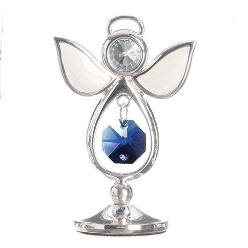 "BIRTHSTONE ANGEL KEEPSAKE - SEPTEMBER 2.75""H"