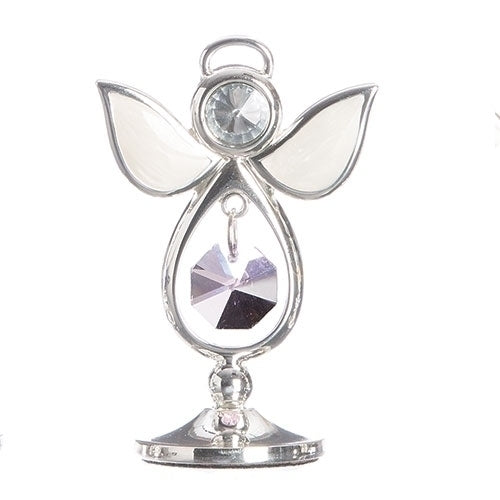 "BIRTHSTONE ANGEL KEEPSAKE - OCTOBER 2.75""H"