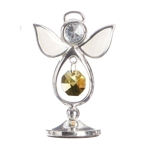 "BIRTHSTONE ANGEL NOVEMBER KEEPSAKE 2.75""H"