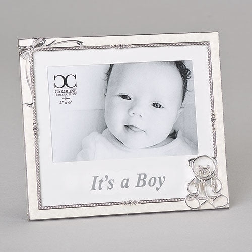 "BOY - IT'S A BOY FRAME 4X6 6.5""H"