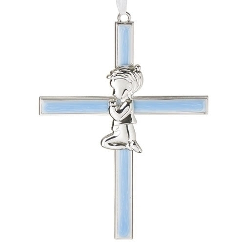 "Blue Boy Cross 6""H"