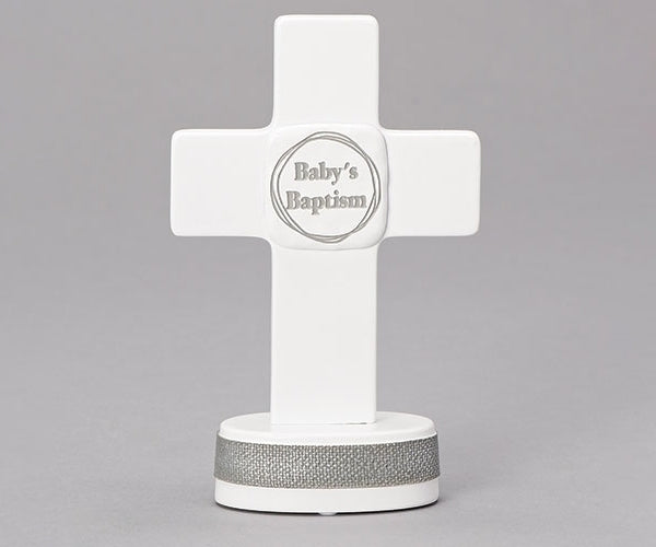 "Baptism Table Cross 6""H"