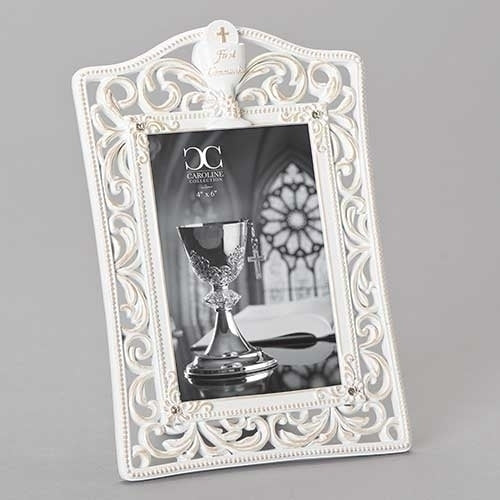 "COMMUNION FRAME - 4x6 - 9.25""H"