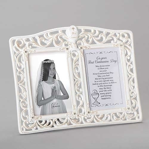 "COMMUNION FRAME - 9.25""H COMMUNION DOUBLE FRAME"