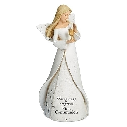 "ANGEL FIRST COMMUNION 7""H"