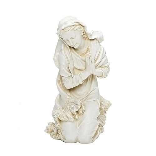 "MARY - 27"" SCALE WHITE MARY 16"" H"