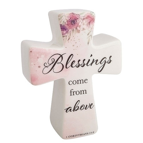 "Blessings Cross Blessings 6""H"