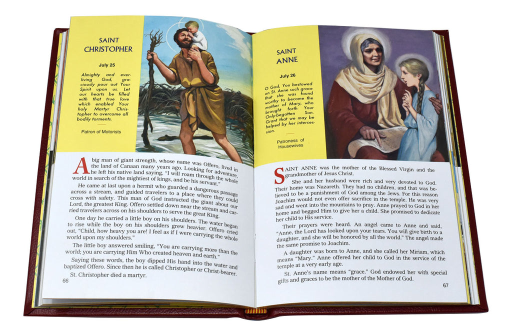 Picture Book Of Saints - 2 Color Options