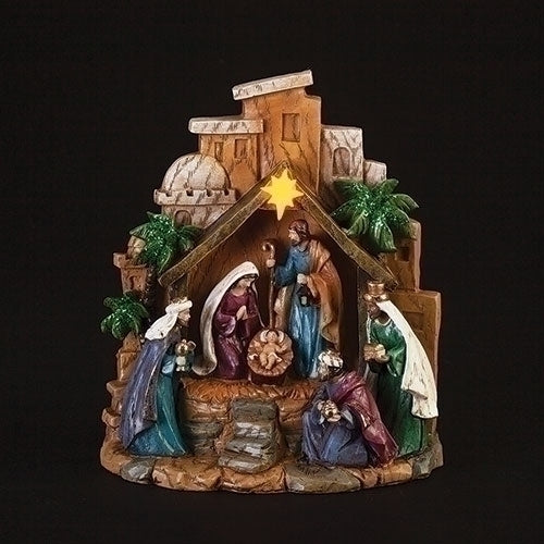 "Nativity Scene Figure LED 8""H"