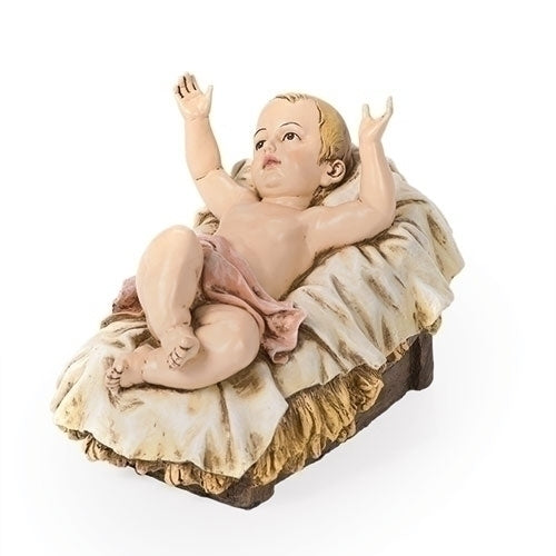 "Baby Jesus Color 39"" Scale"