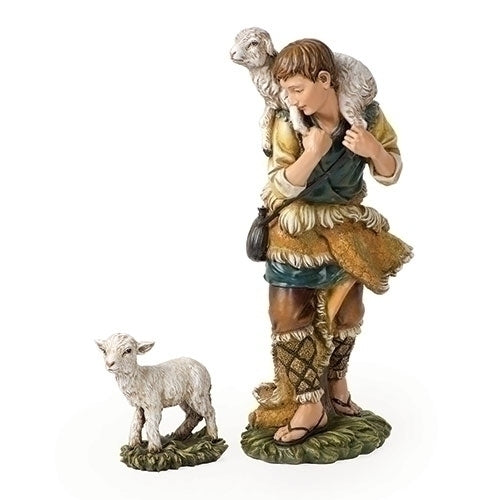 "SHEPARD - 27""SCALE 2PC ST SHEPHERD/LAMB"