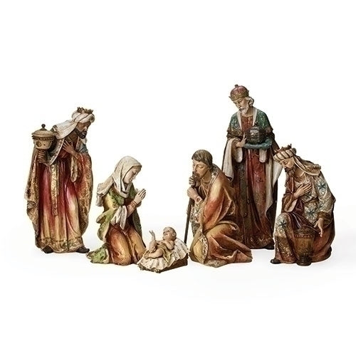 "NATIVITY FIG 6PC ST 5""-20"""