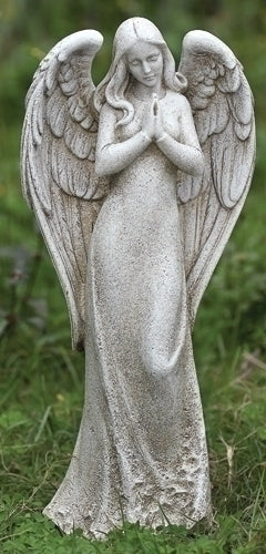 "ANGEL - 14.5""H PRAYING ANGEL GARDEN"