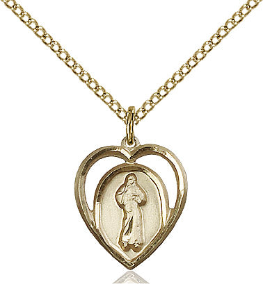 Divine Mercy - Gold-filled pendant
