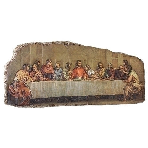 "THE LAST SUPPER PLAQUE- 7.75""H"