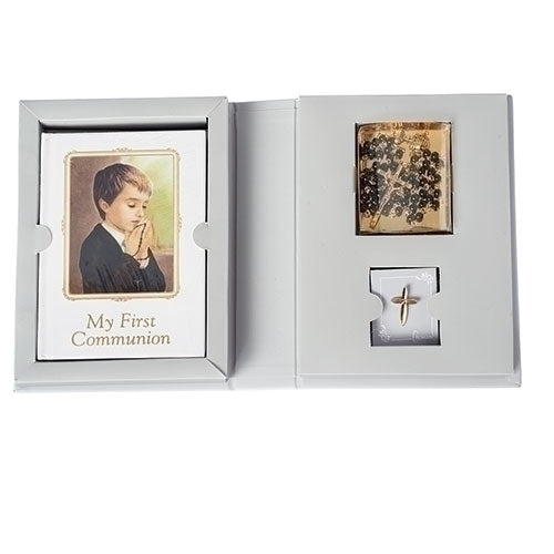 BOY COMMUNION FOLDER SET 4PC