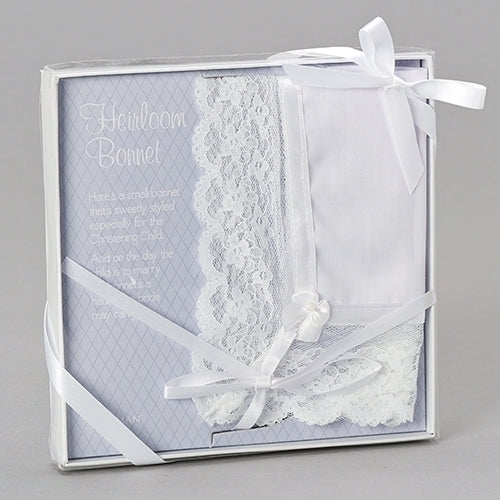 BAPTISM BONNET / WEDDING HANKY