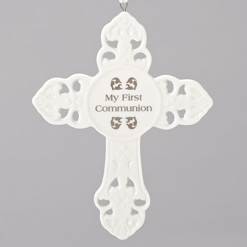 "WALL CROSS - COMMUNION 5""H"