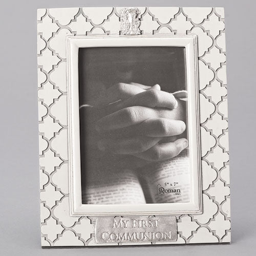 "COMMUNION FRAME 5x7 - 10.25""H"