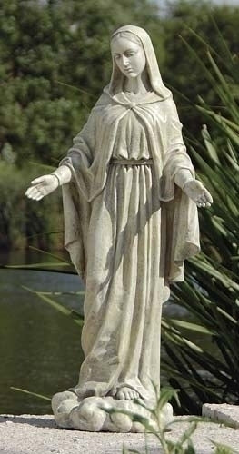 "OUR LADY OF GRACE GARDEN - 24""H"