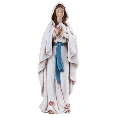 "OUR LADY OF LOURDES FIGURE 4""H"