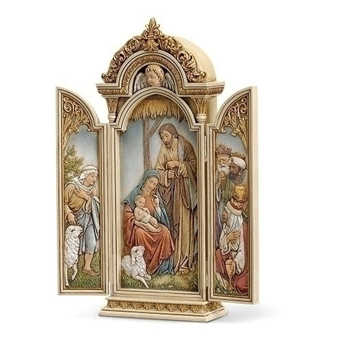 "NATIVITY TRIPTYCH 12.75""H"