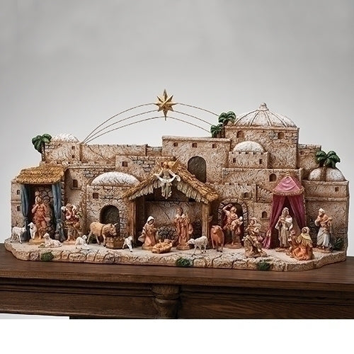 "DISPLAY - 41""W BETHLEHEM TOWN DISPLAY"