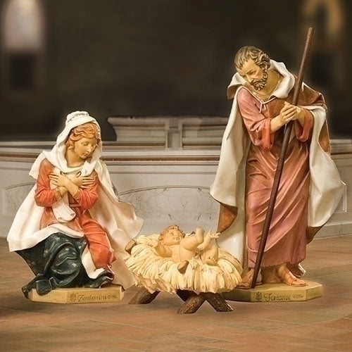 "HOLY FAMILY 50"" SCALE 4 PC SET"