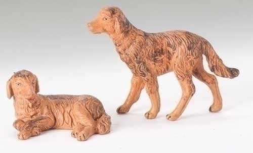 "DOGS 5"" SCALE 2 PC SET"