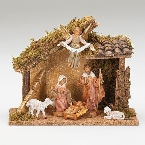 "NATIVITY 5"" SCALE 6 FIGURE"
