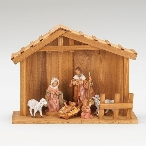 "NATIVITY - 5"" SCALE 6 FIGURE NATIVITY"