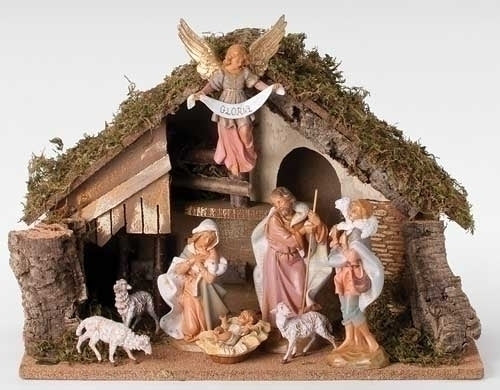 "NATIVITY - 7.5"" SCALE 8 PIECE NATIVITY"