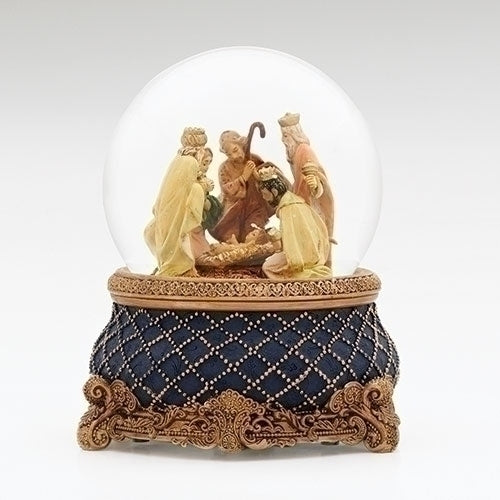 "NATIVITY - 6.75""H MUSICAL NATIVITY DOME"