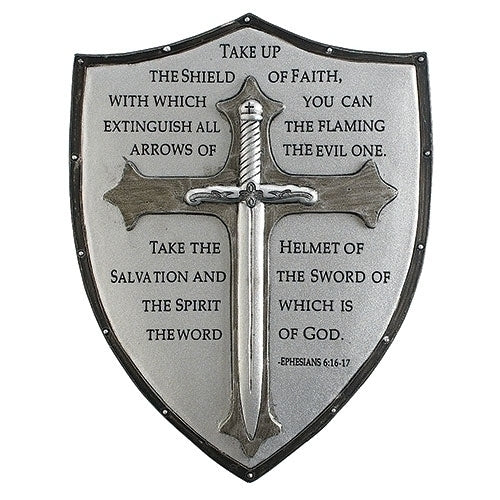 "ARMOR OF GOD WALL PLAQUE 6.5""H"