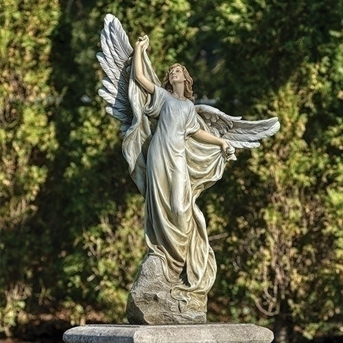 "ANGEL - HEAVEN'S ANGEL STATUE 38""H"